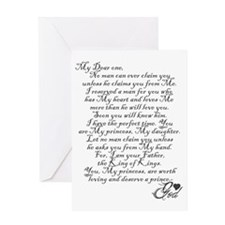 letter from God Greeting Card