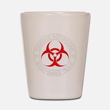 zombie-outbreak Shot Glass