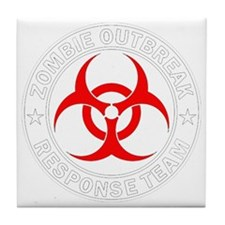 zombie-outbreak Tile Coaster