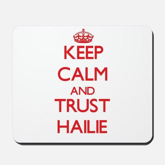Keep Calm and TRUST Hailie Mousepad