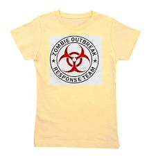 zombie-outbreak-carmagnet Girl's Tee