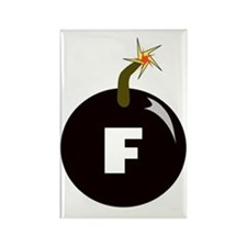 fbomb Rectangle Magnet