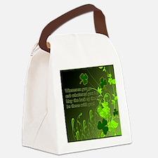 LUCK-OF-THE-IRISH-STADIUM-BLANKET Canvas Lunch Bag