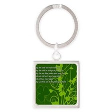 MAY-THE-ROAD-RISE-TO-MEET-YOU-STAD Square Keychain