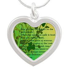 YOU-DO-NOT-WALK-ALONE-STADIU Silver Heart Necklace