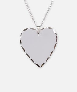 Cleft Heart (White) Necklace