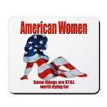 American Women Mousepad
