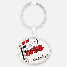 FEVERLOGO Oval Keychain