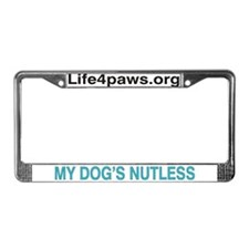 License Plate Life4Paws