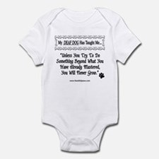 Unless You Try  Infant Bodysuit