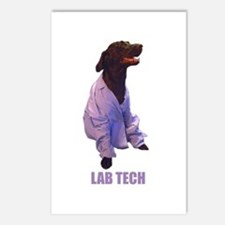 lab tech Postcards (Package of 8)