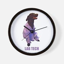 lab tech Wall Clock