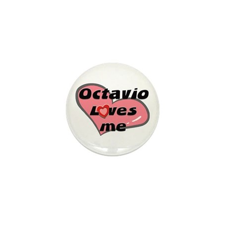 octavio loves me Mini Button