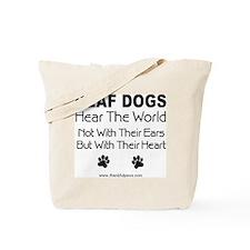 Hear The World Tote Bag