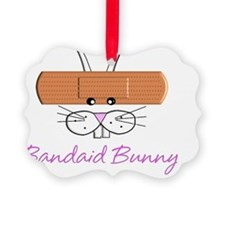 Bandaid bunny Ornament