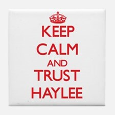 Keep Calm and TRUST Haylee Tile Coaster