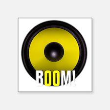 """BOOM! Square Sticker 3"""" x 3"""""""