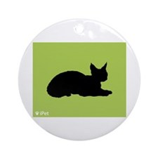 Devon iPet Ornament (Round)