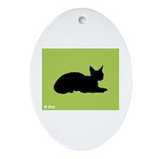 Devon iPet Oval Ornament