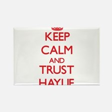 Keep Calm and TRUST Haylie Magnets