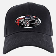 1996-2004 Viper GTS Black-Red Car Baseball Hat