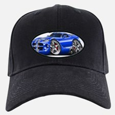 1996-2004 Viper GTS Blue-Silver Car Baseball Hat