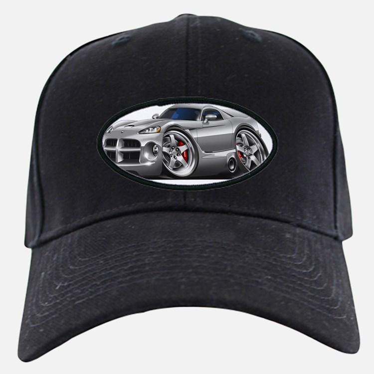 1996-2004 Viper GTS Grey Car Baseball Hat