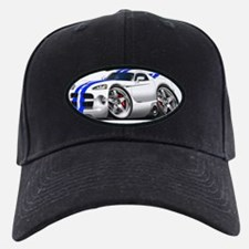 1996-2004 Viper GTS White-Blue Car Baseball Hat