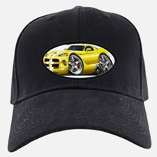 1996-2004 Viper GTS Yellow-White Car Baseball Hat