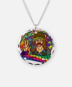 PSYCHEDELIC-PEACE Necklace