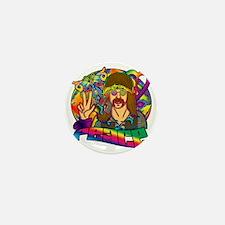 PSYCHEDELIC-PEACE Mini Button