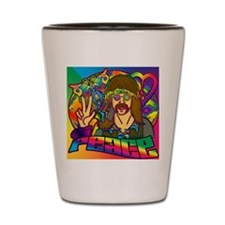 PSYCHEDELIC-PEACE-STADIUM-BLANKET Shot Glass