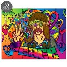 PSYCHEDELIC-PEACE-banner Puzzle