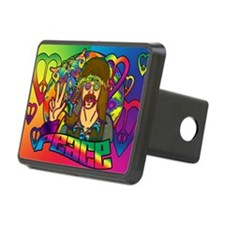 PSYCHEDELIC-PEACE-banner Hitch Cover