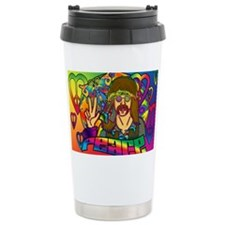 PSYCHEDELIC-PEACE-banner Travel Mug