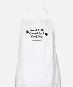 Proud Deaf Dog Owner BBQ Apron