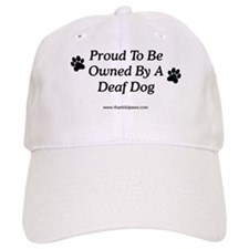 Proud Deaf Dog Owner Baseball Cap