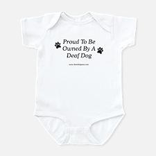 Proud Deaf Dog Owner Infant Bodysuit