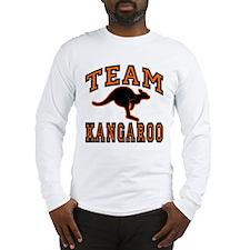 Team Kangaroo Orange Long Sleeve T-Shirt