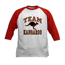 Team Kangaroo Orange Tee