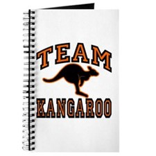 Team Kangaroo Orange Journal