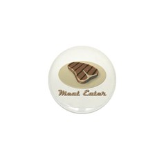 Meat Eater Mini Button (10 pack)