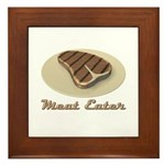 Meat Eater Framed Tile