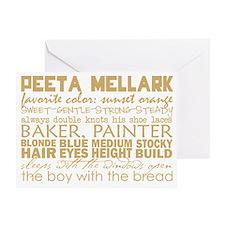 peeta subway Greeting Card