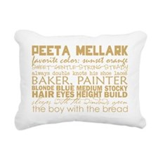 peeta subway Rectangular Canvas Pillow