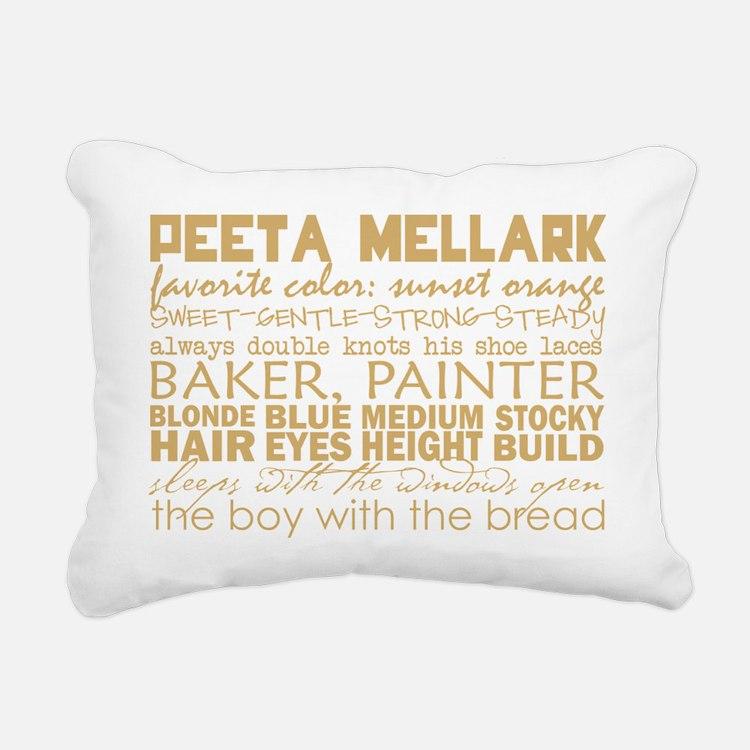 peeta subway Rectangular Canvas Pillow
