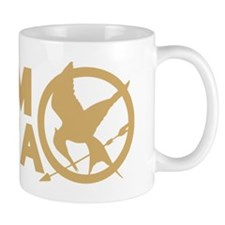 team peeta solid mockingjay Mug