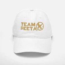 team peeta solid mockingjay Baseball Baseball Cap