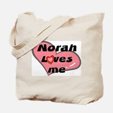 norah loves me Tote Bag