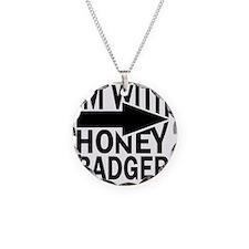 im with honey badger_BLACK Necklace